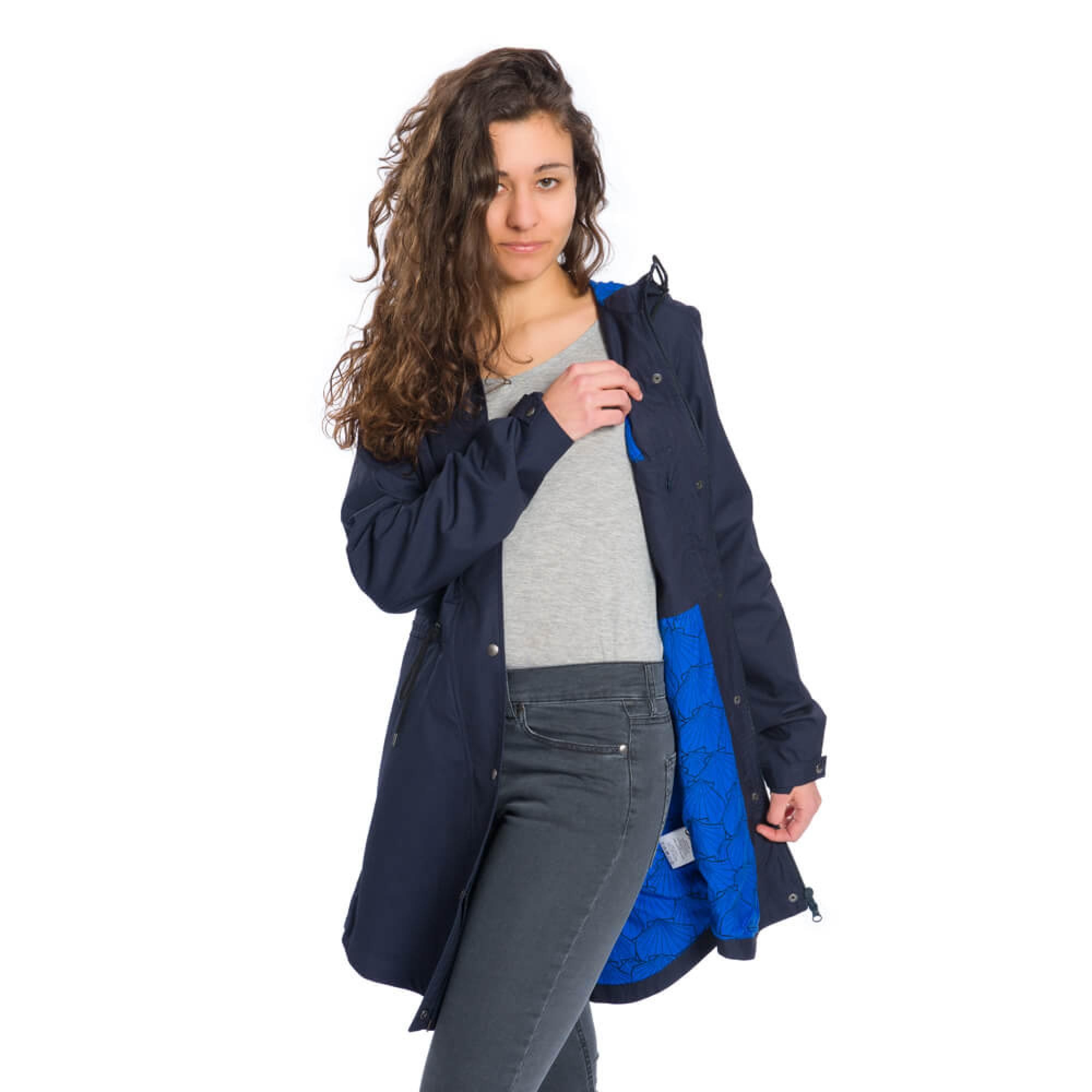 80d5435c00 ... Dámský kabát Bleed | Atlantic Lady Coat ...