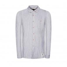 Pánská  košile Bleed |  Striped linen (Lněná)