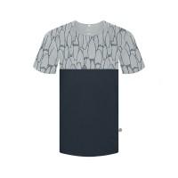 Tričko Bleed | Bicolor tmavě modré